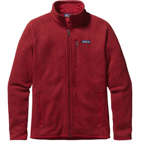 Patagonia Better Sweater Jas Heren rood